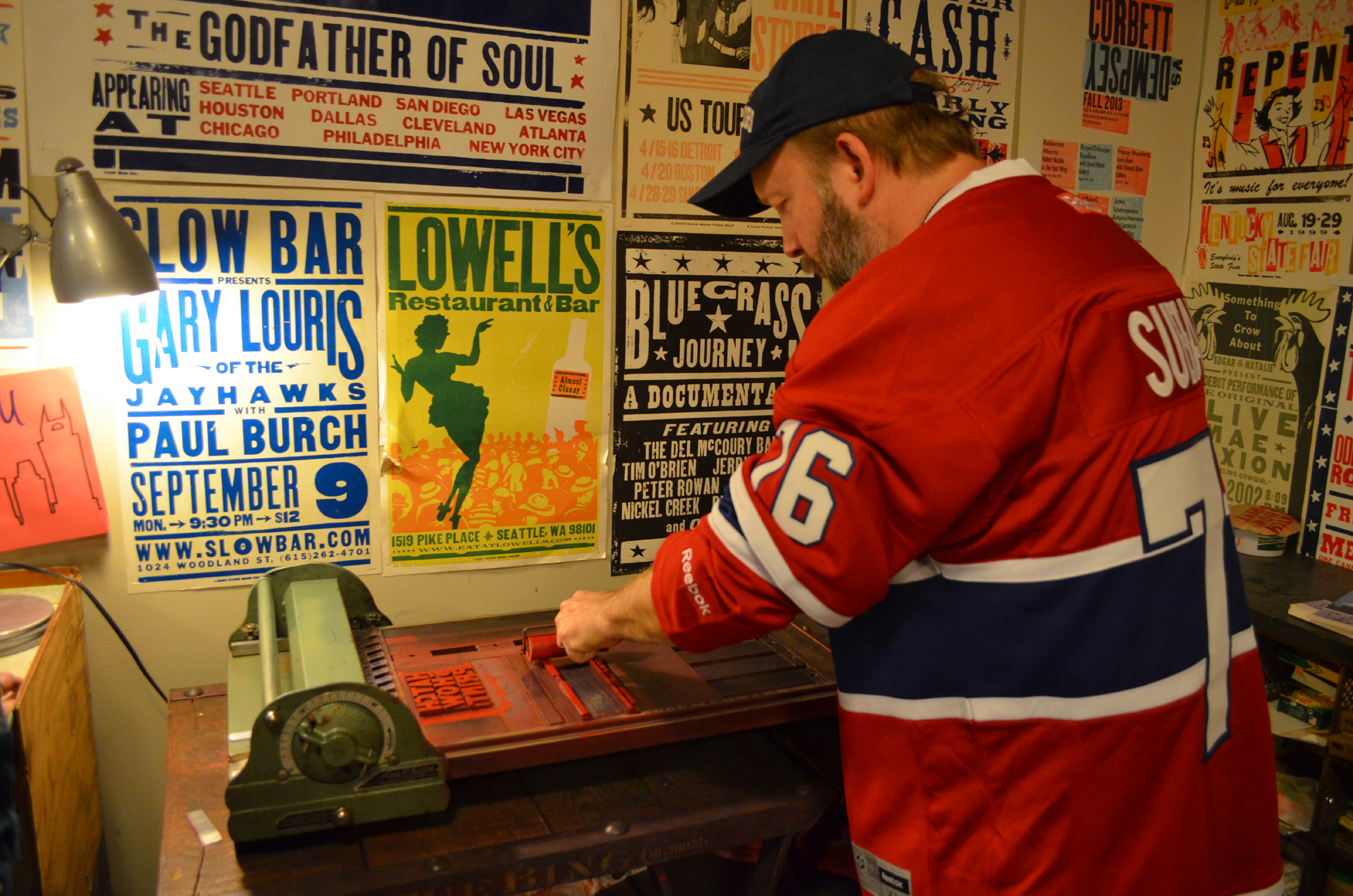 Hatch Show Print Tour And Playing Tourist Around Downtown Nashville ...