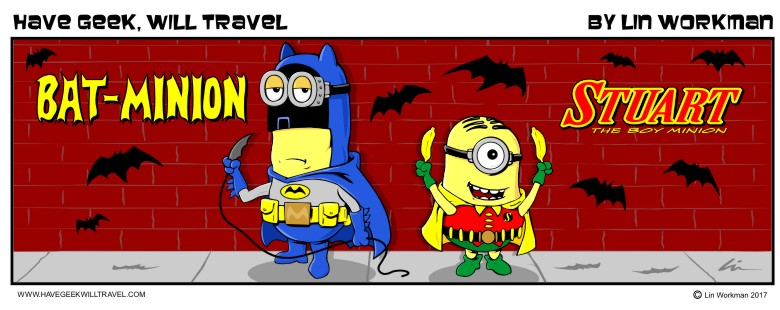 Bat-Minion and Stuart, The Boy Minion!
